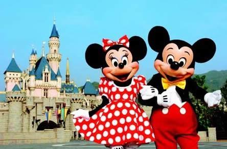迪士尼乐园双飞五日(含迪士尼乐园)